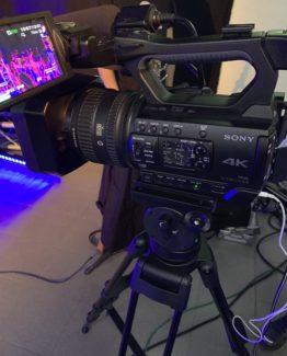 Power Light - Streaming Video Piemonte - Sony 4K pxw-z150